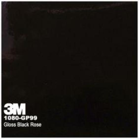 3M Gloss Black Rose
