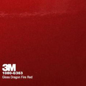 3M Gloss Dragon Fire Red