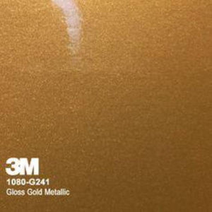 3M Gloss Gold Metallic