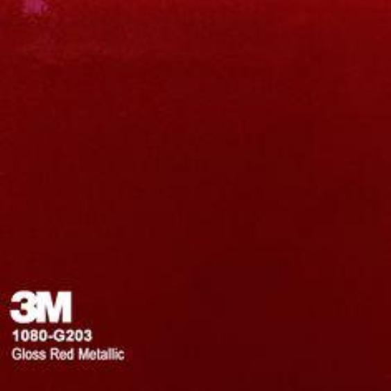 3M Gloss Red Metallic