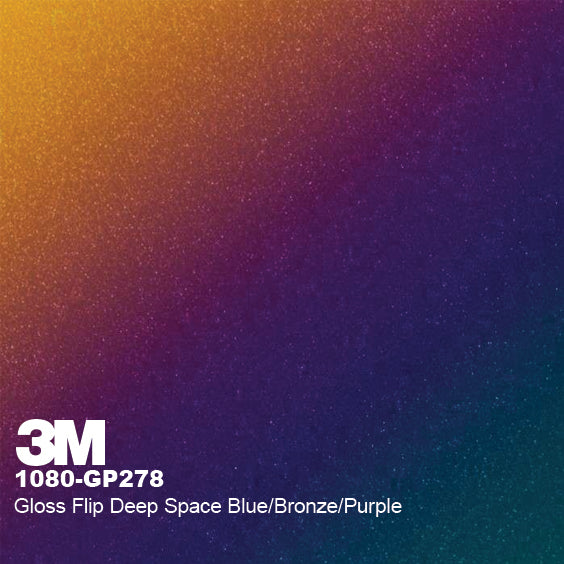 3M Gloss Flip Deep Space Blue/Bronze/Purple