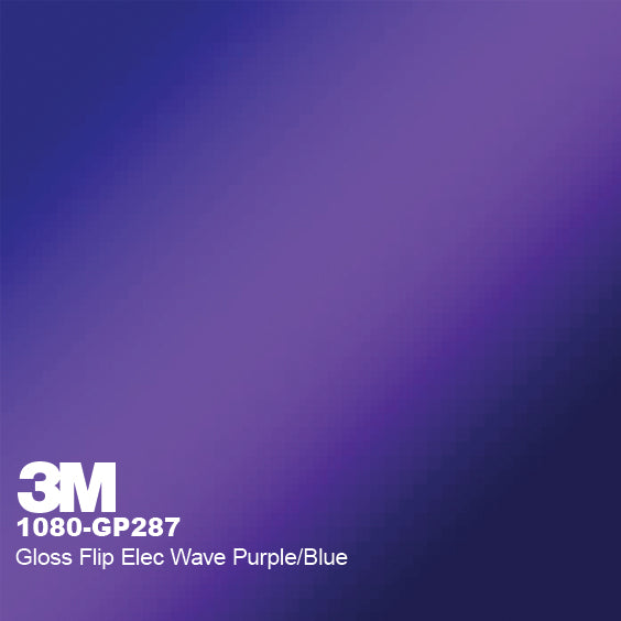 3M Gloss Flip Electric Wave Purple/Blue