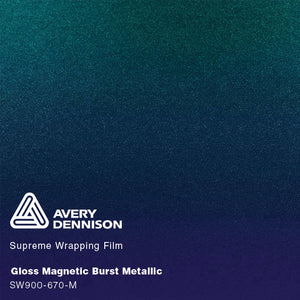 Avery Gloss Magnetic Burst Metallic