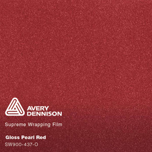 Avery Gloss Pearl Red