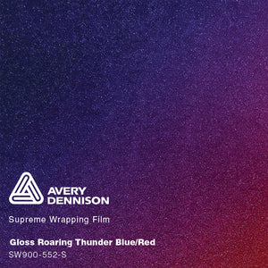 Avery Gloss Roaring Thunder Blue/Red