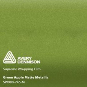 Avery Matte Green Apple Metallic