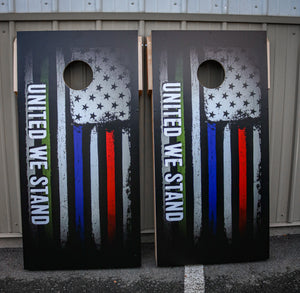 "48""X24"" UNITED WE STAND Cornhole Set"