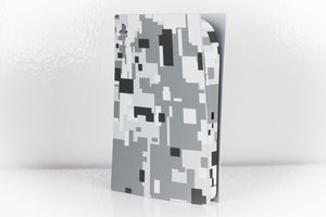 PS5 Digital Snow Camo Skin