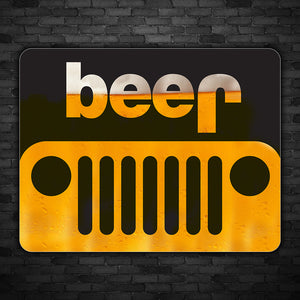 Jeep Beer Decal