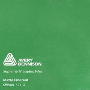 Avery Matte Emerald Green