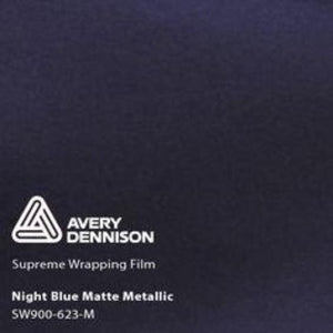 Avery Matte Night Blue Metallic