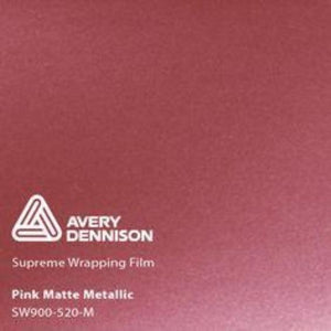 Avery Matte Pink Metallic