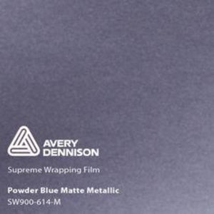 Avery Matte Powder Blue Metallic