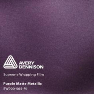 Avery Matte Purple Metallic