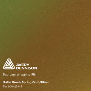 Avery Satin Fresh Spring Gold/Silver