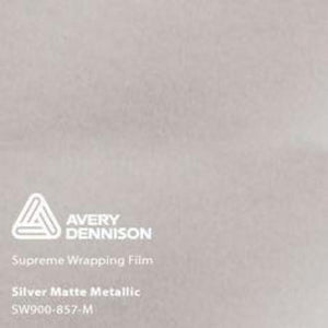 Avery Matte Silver Metallic