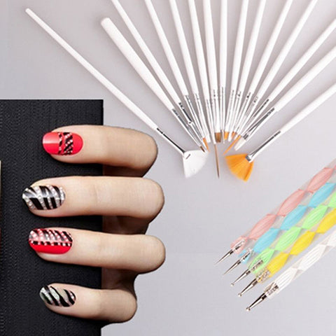 Complete Nail Art Set (20 Pieces)