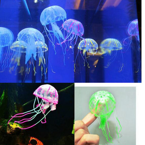 Glowing Silicone Jellyfish
