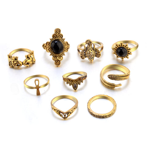 Gothic Rings (Set of 10)