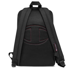 Embroidered Champion Backpack GG NANI Heather Black / Black