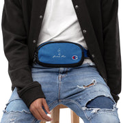 Embroidered Champion fanny pack GG NANI Heather Royal/Black