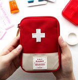 1PC Portable Outdoor Travel First Aid kit Medicine bag Home Small Medical box Emergency Survival Pill Case R3