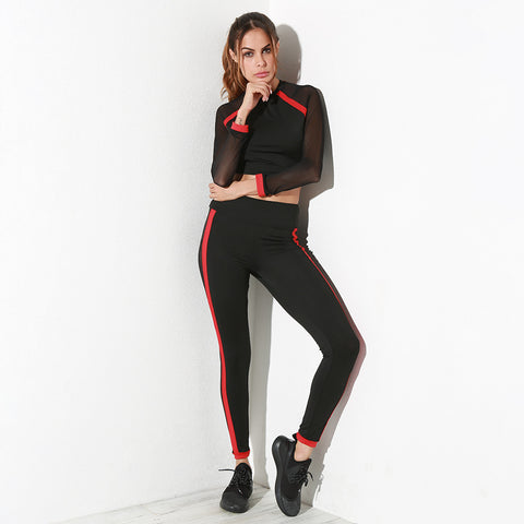 Women's Comfortable Mesh Fitness Suit by Umlife