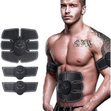 EMS Trainer Wireless Muscle ABS Stimulator Smart Fitness Abdominal Training Device Electric Body Massager Weight Loss Stickers