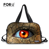 FORUDESIGNS Large Eye Design Multi-function Sports Bag