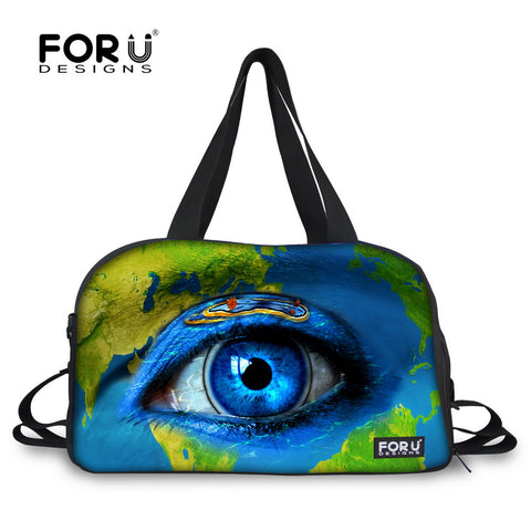 FORUDESIGNS Large Eye Design Multi-functional Sports Bag