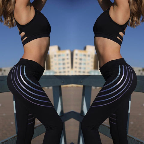 Leggins 2018 Summer Noctilucent Fitness Legging Ladies Trousers Glowing High Elastic Skinny Pants  Workout Leggings