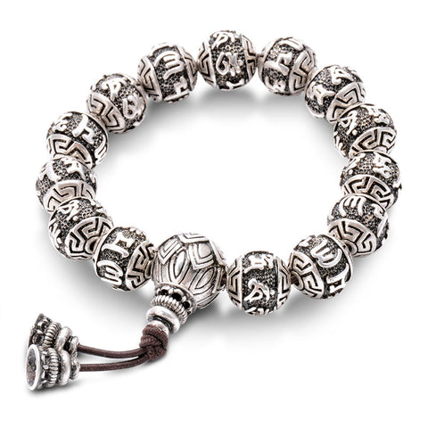 Vintage Tibetan Prayer Bracelet For Men
