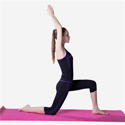 Women Sport Yoga Sets Vest Pants Suits
