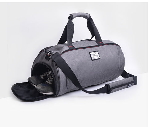 Waterproof Shoulder Sport Gym Bag for Shoes Storage