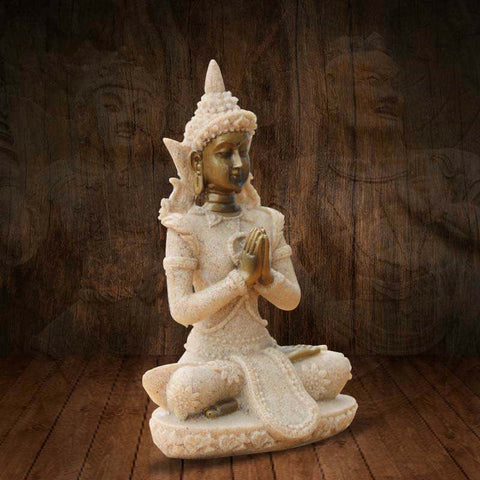 Buddhism Adornment Statue Tathagata India Yoga