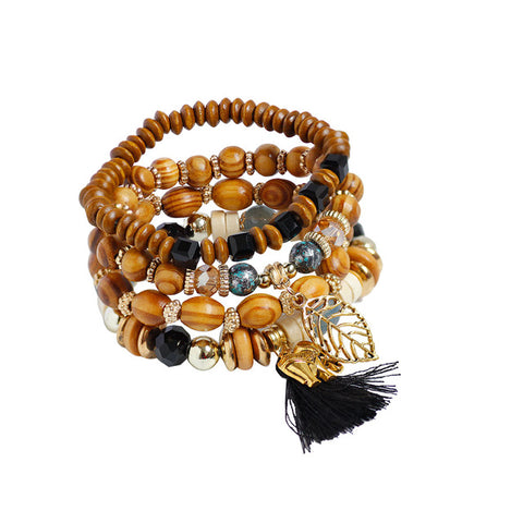 Mult-layer Mala Bracelet 4pc Set by F&U
