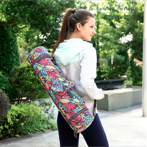 Waterproof Canvas Yoga Backpack