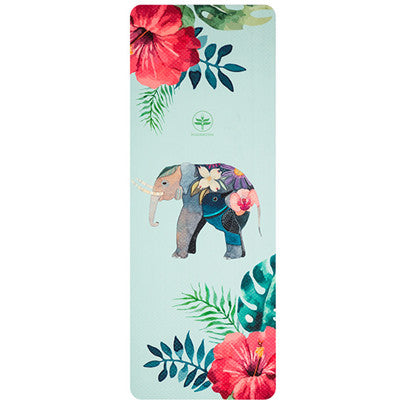 AIMIDA Colorful Elephant Print Yoga Mat