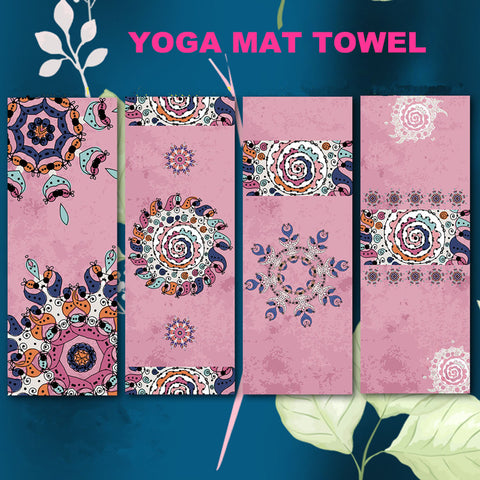 New Microfiber Indian Style Yoga Mat