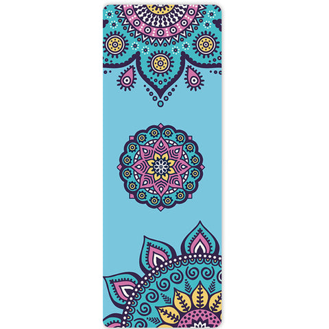 sea flower yoga mat
