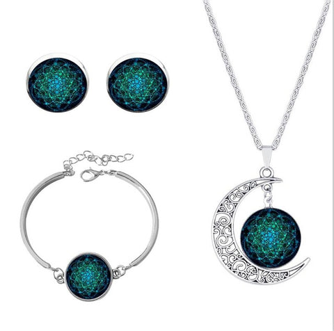 Flower of Life 3-PC Jewelry Set