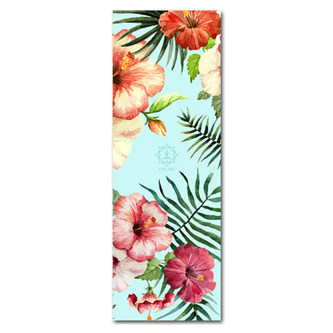 Beach Time Faux Suede Anti Slip Yoga Mat by Aimida