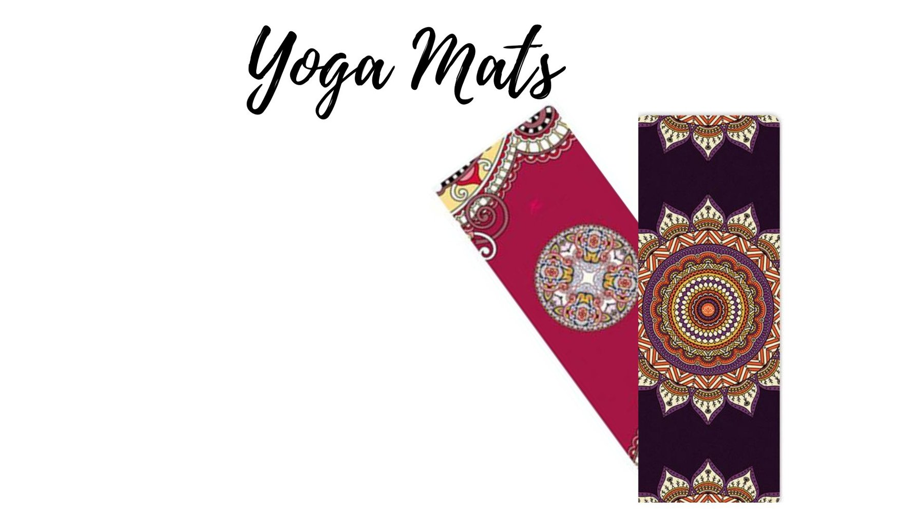 Unique Yoga Mat 100% Non-Toxic