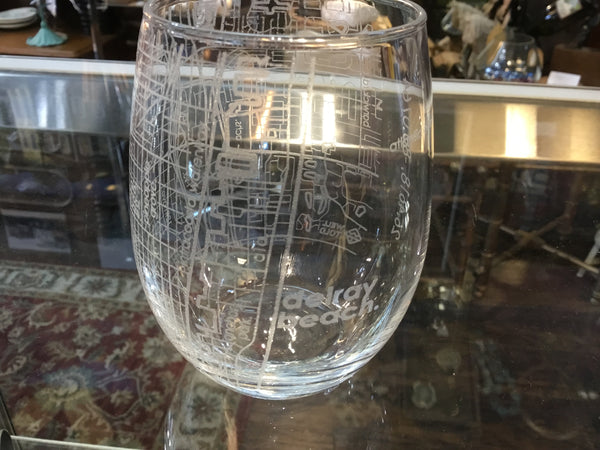 Delray Beach Stemless Wineglass