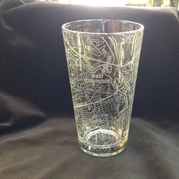 West Columbia SC Pint Glass