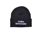 Lemonade Beanie (Black)
