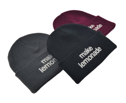 Lemonade Beanie (Burgundy)
