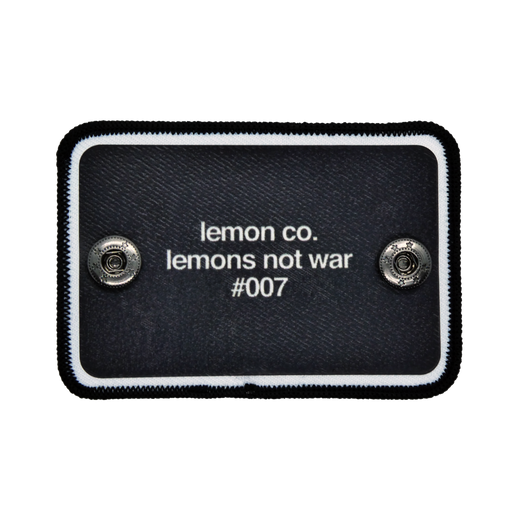 Lemons Not War
