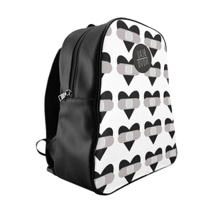 healing hearts all over backpack - BsmNoir