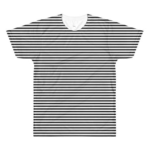 Beau Got Stripes all over tee - BsmNoir